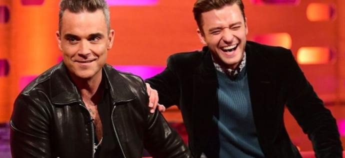 Who from previous 'Boy Band' fame do you think has gained greater stardom as a single performer? Robbie Williams or Justin Timberlake?