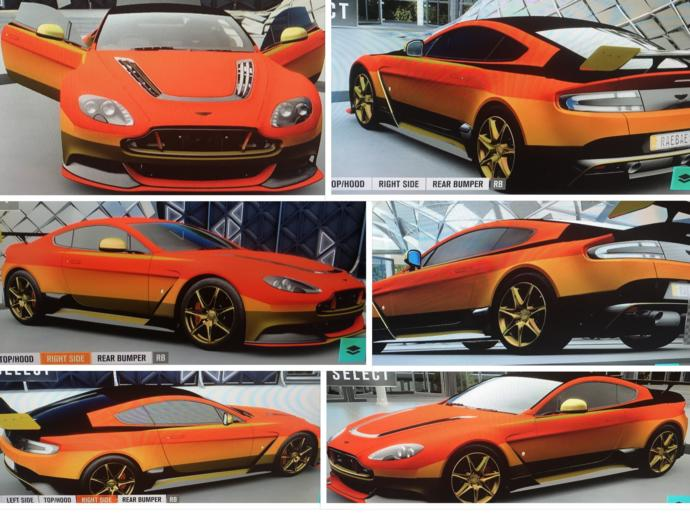 Which of these color customizations look best on these two cars?