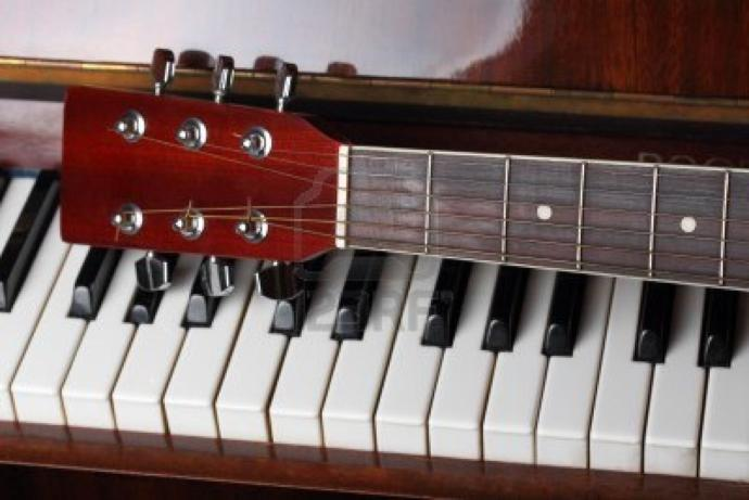 If you could choose either to be instantly a professional at the guitar or piano, which would it be?