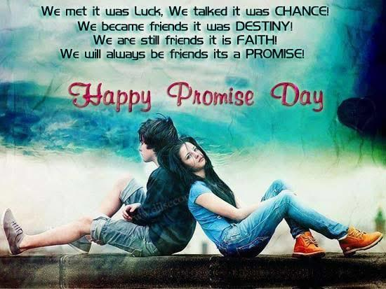11th February Promise day 😊 What you will promise?
