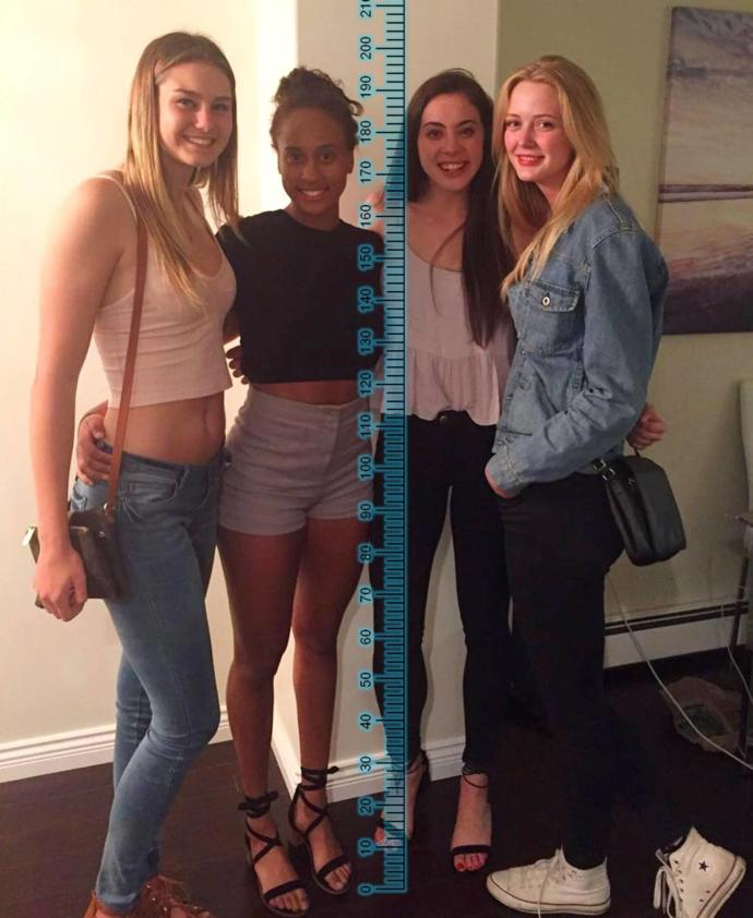 Feel Intimidated By A Tall Girl?