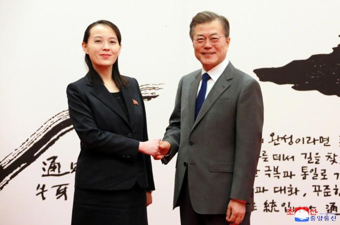 Put the fact she is the sister of a brutal dictator out of your mind and answer this honestly. Is Kim Yo-Jong hot or not?
