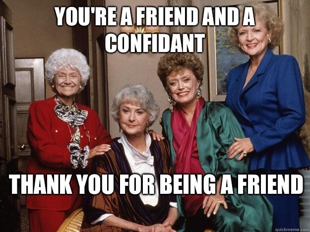 Rate this TV show A-F: The Golden Girls?
