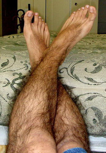 Are silky smooth shaved legs on a mid-thigh shorts wearing guy a turn-off?