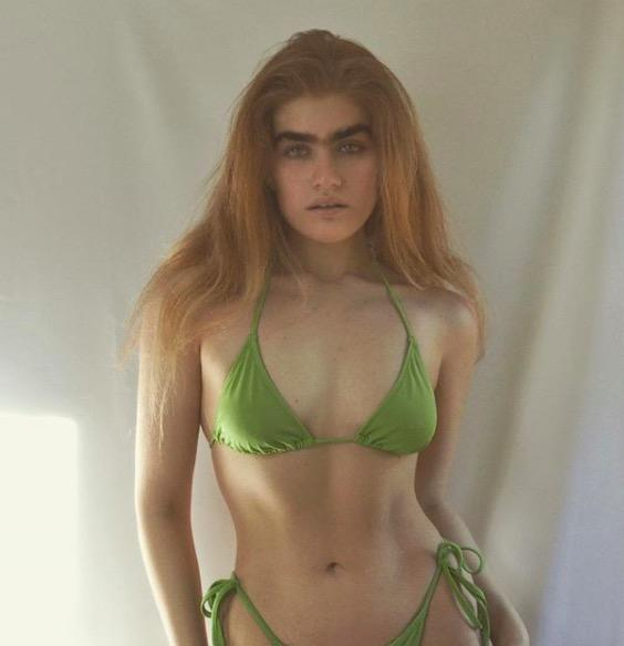 Meet Instagram's favorite unibrowed model who is redefining feminine beauty, what are your thoughts?