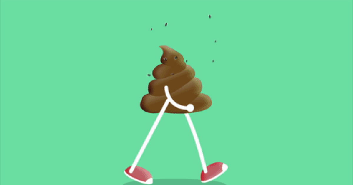 Funny pooping gif — pic 10