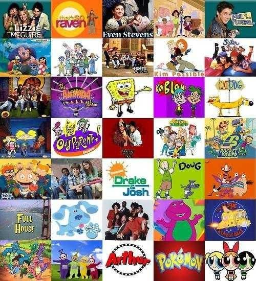 Favourite childhood movie and tv show?