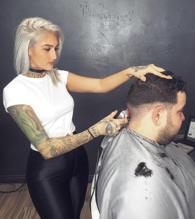 Would you ever let a woman cut your hair?