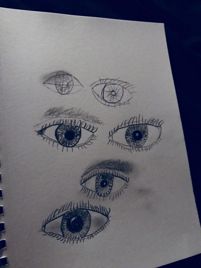 Any thoughts on how I can draw eyes better?