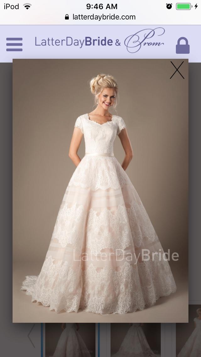 Wedding dress styles?