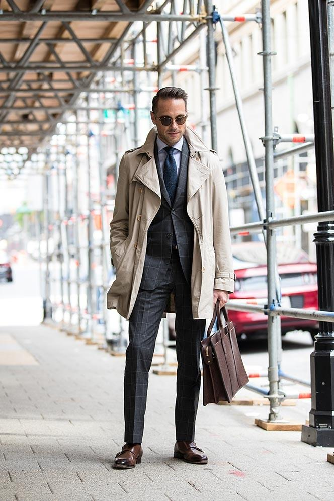 trench coats on men cool or not cool??