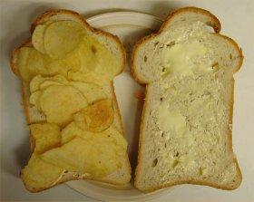 "Have you ever made yourself a ""crisp"" sandwich?"