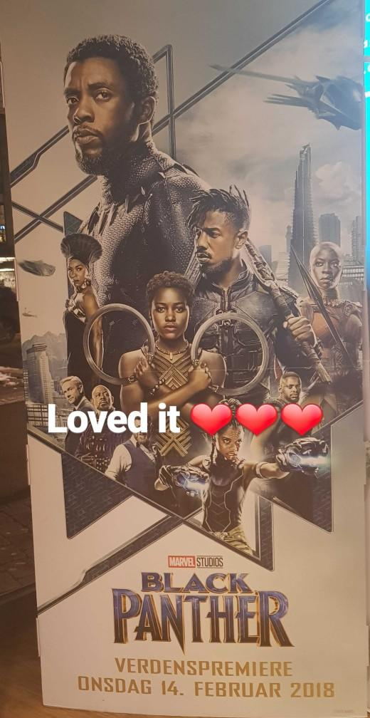 What do you think about black panther??