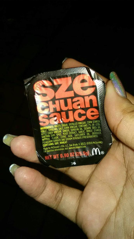 Anyone ever tried Szechuan sauce??