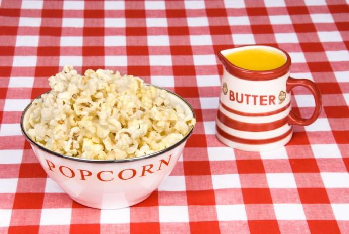 How Do You Like Your Popcorn (Amount Of Butter With Or Without Salt)?