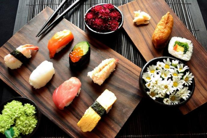 What do you like most about how sushi tastes?