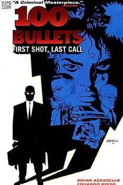 A comic book moral dilemma, based of the series 100 bullets?