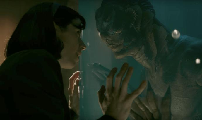 Why is The Shape of Water nominated for an Oscar?