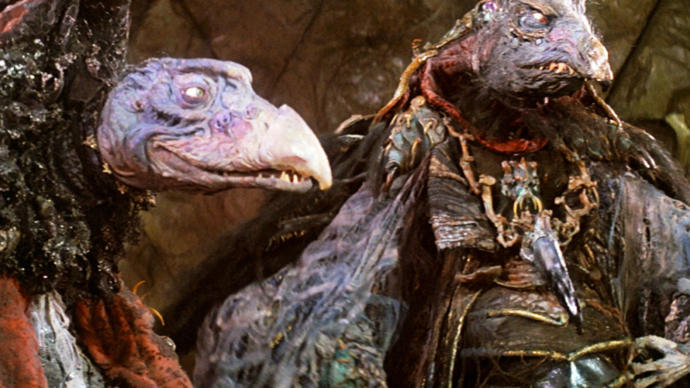 Have you ever watched The Dark Crystal (1982)?
