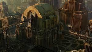 Which are you most likely want to see in the movies based on the city landscape and why?