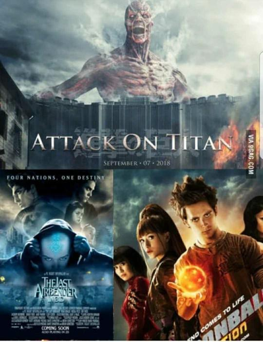 How do you feel about movie adapted from video games and anime??