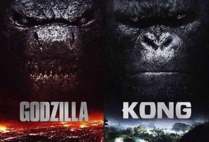 Kong vs Godzilla! Who's team are you on??