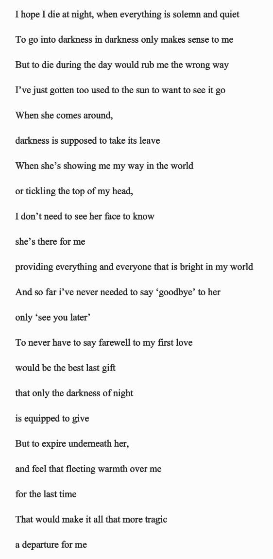 Rate this poem out of five??