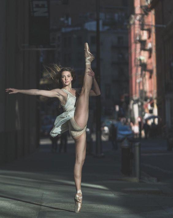 Is it easier to be a ballerina with stronger, more muscular legs, with a really thin frame or with really lean musculature?