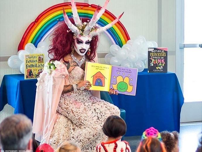 What do you think of the kids being exposed to drag queens and transgender at an early age?