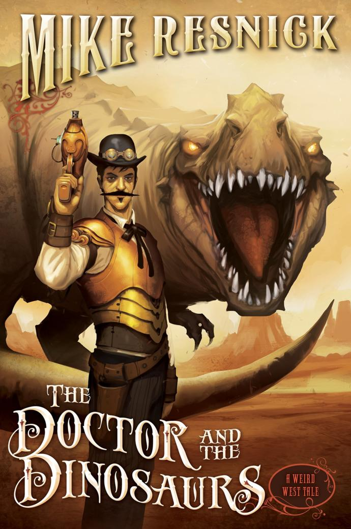 Who would win in a fight, Doc Holliday, Teddy Roosevelt, and Cole Younger, all recruited by the sorcerer Apache Geronimo Vs. Dinosaurs?