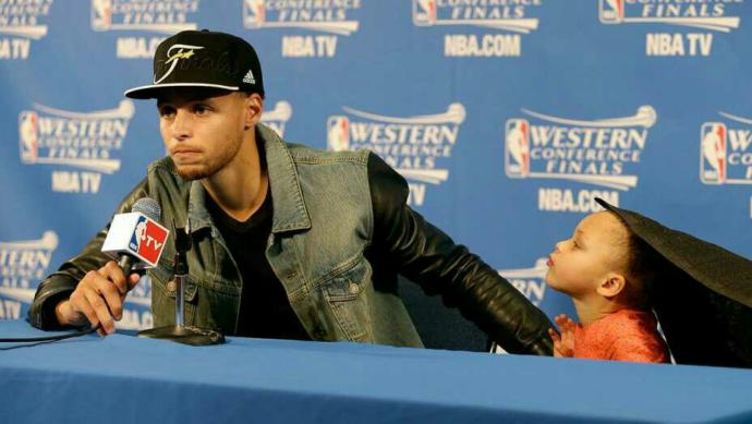 What do you think about professional athletes bringing their kids to post-game press conferences??