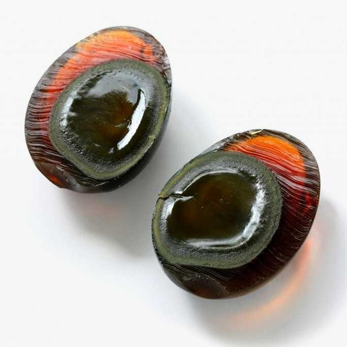 Would you try a century egg 🌑?
