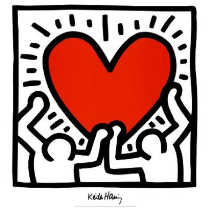 Do you like Keith Haring's art?