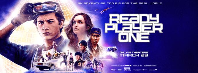 Who is excited about seeing ready player one?