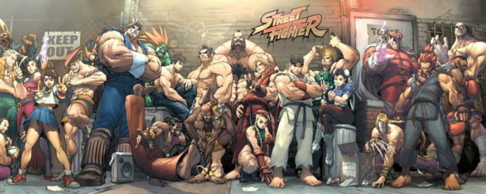 Were you ever into fighting games, which one was/is your favorite??