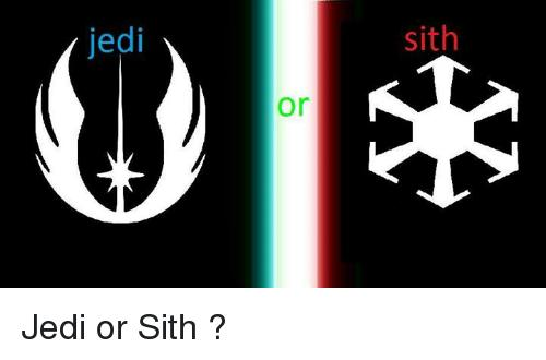 Which path is better - Jedi or Sith?