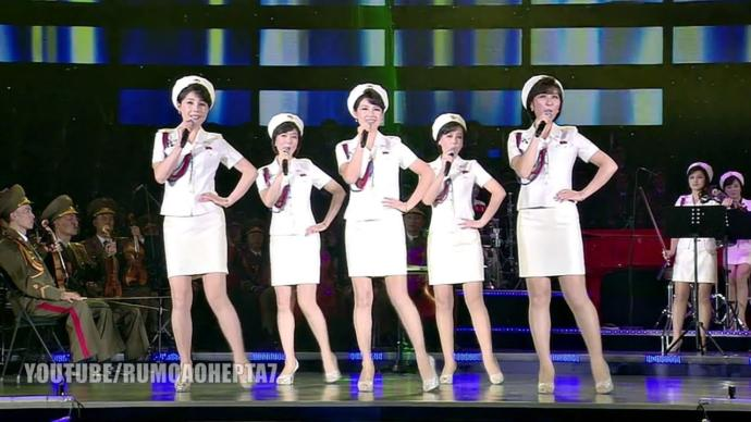 Would anyone instinctively want to have sex with ant of the members of the all-female North Korean Moranbong Band?