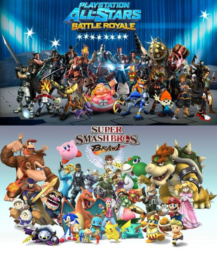 Would you love to see Nintendo and Sony ever doing a ONCE in a lifetime Super Smash Bros crossover video game together?