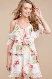 What do you think about floral print dresses in the summer?