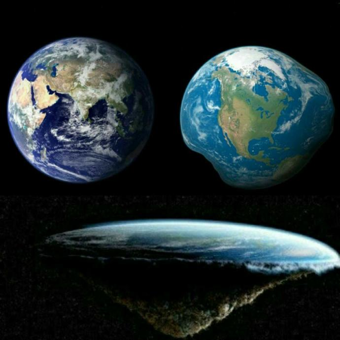 What shape do you think the Earth is - Poll?