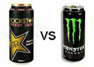Rockstar vs Monster?