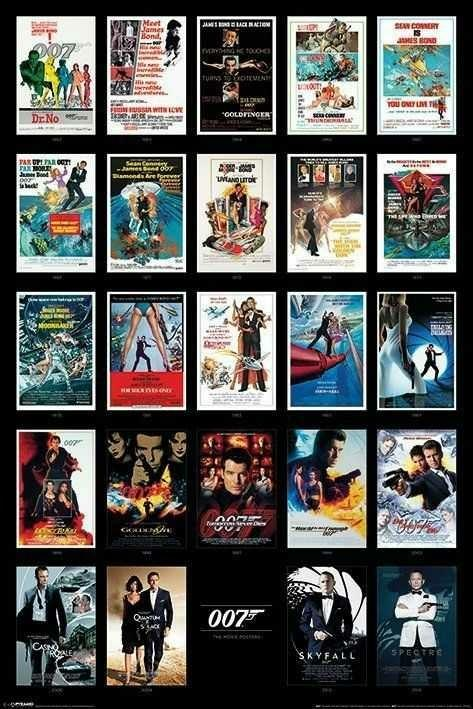 What was the first James Bond movie you remember seeing??