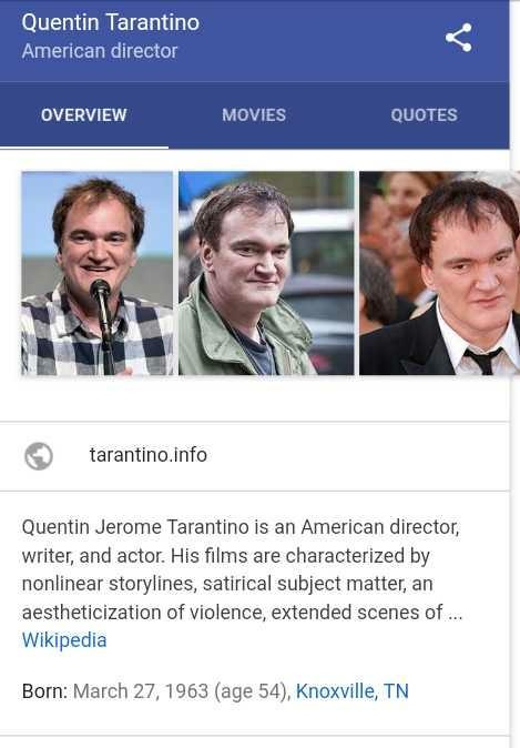 What's your favorite Quentin Tarantino film??
