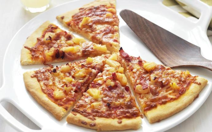 Pizza... With Pineapple & Ham ?