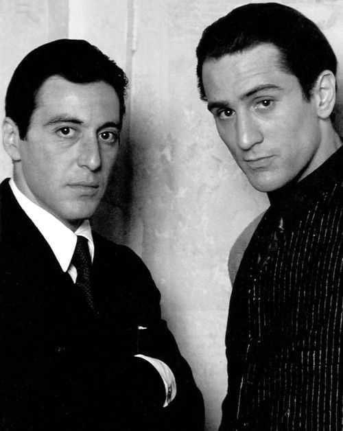 Who was the greater actor between Al Pacino and Robert De Niro ??