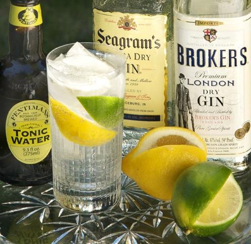 Would you consider gin and tonics and vodka sodas?