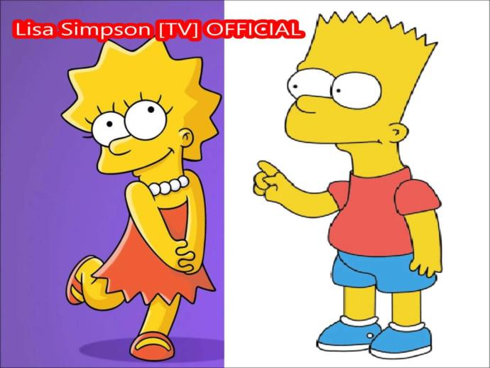 Would You Love to meet Bart or Lisa Simpson?