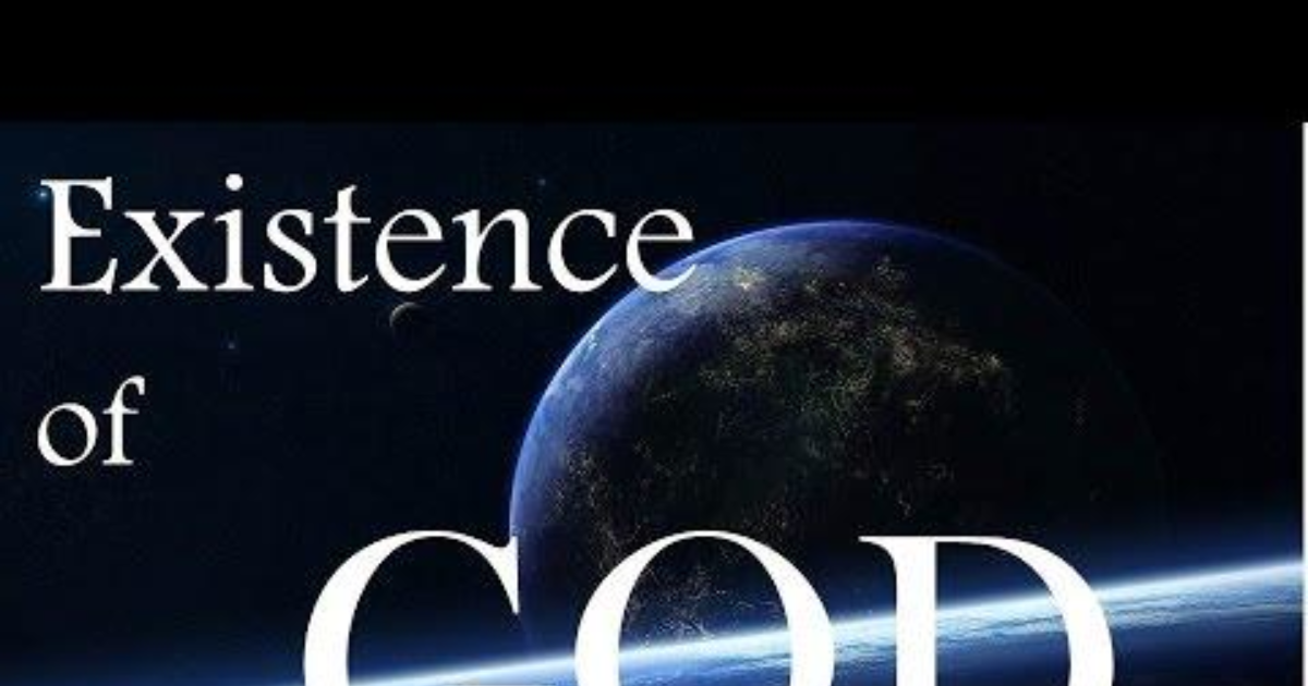 god existence There's an argument that many people make: that the natural world, and humanity's existence in the universe, point towards a divine creator that brought forth all of this into existence.