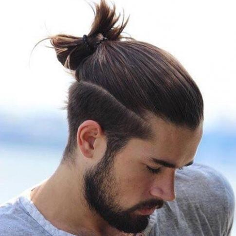 How do you feel about the top knot hairstyle on guys? - GirlsAskGuys