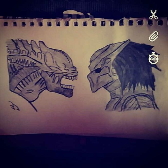 Who would win alien or predator?
